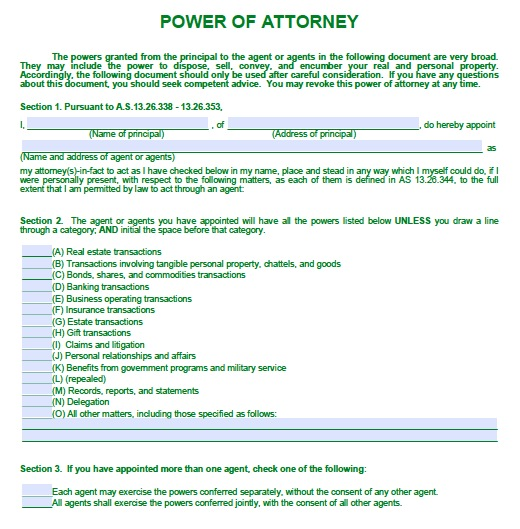 how to make someone your power of attorney