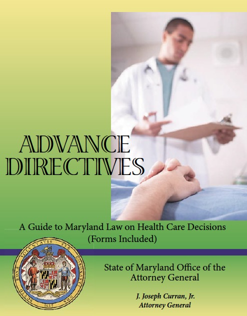 Free Maryland Medical Power Of Attorney Form  Pdf Template
