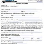 Free Nevada Power of Attorney Forms and Templates