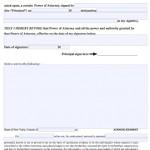 Revocation (Cancel) POA Form