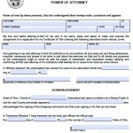 Free Ohio Power of Attorney Forms and Templates