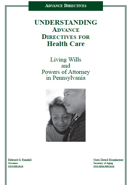 Free Pennsylvania Medical Power Of Attorney Form Pdf Template
