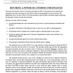 Financial Revocation